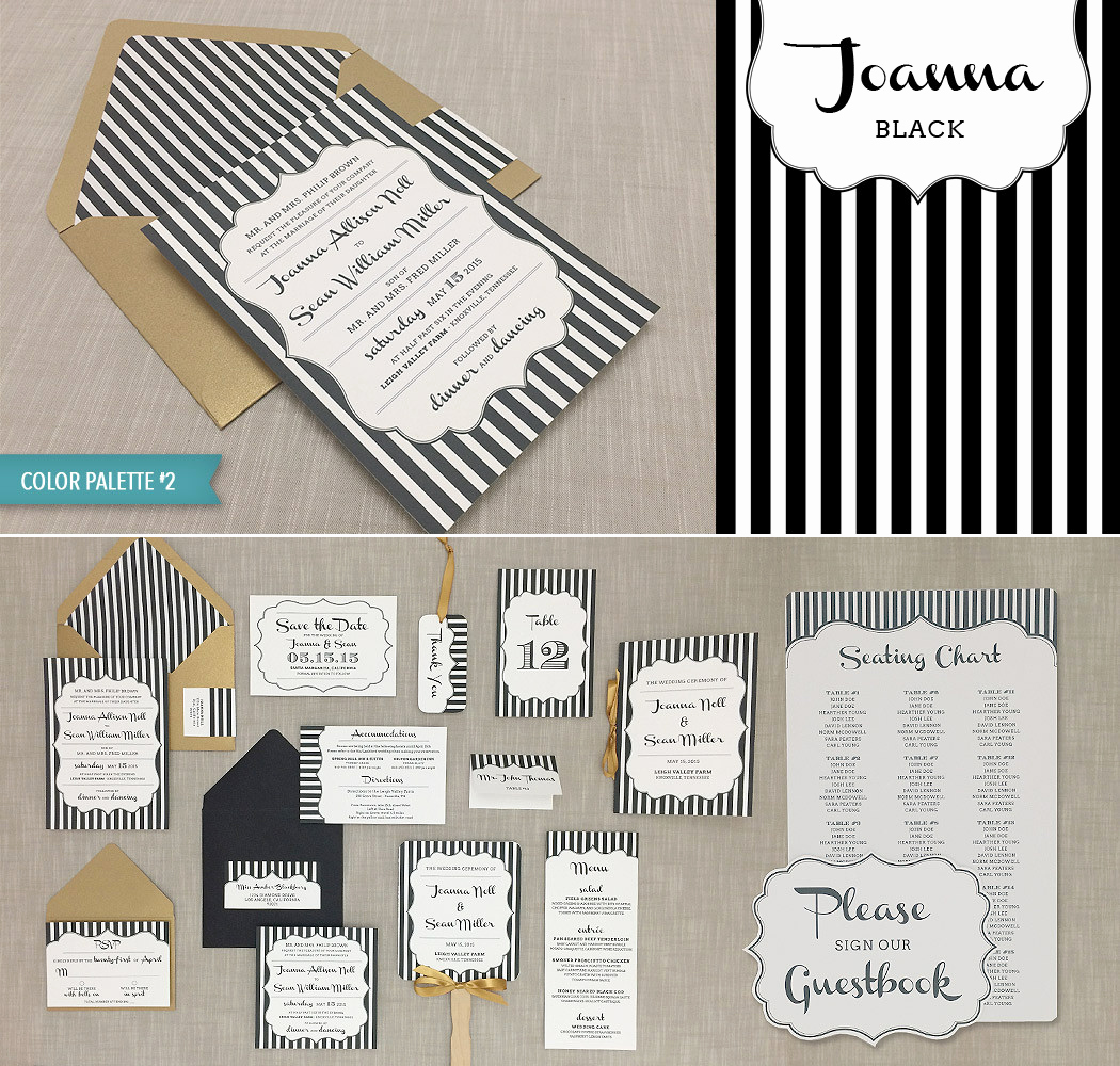 Paint Palette Invitation Template Lovely Joanna Bud Savvy Bride Collection – Download & Print