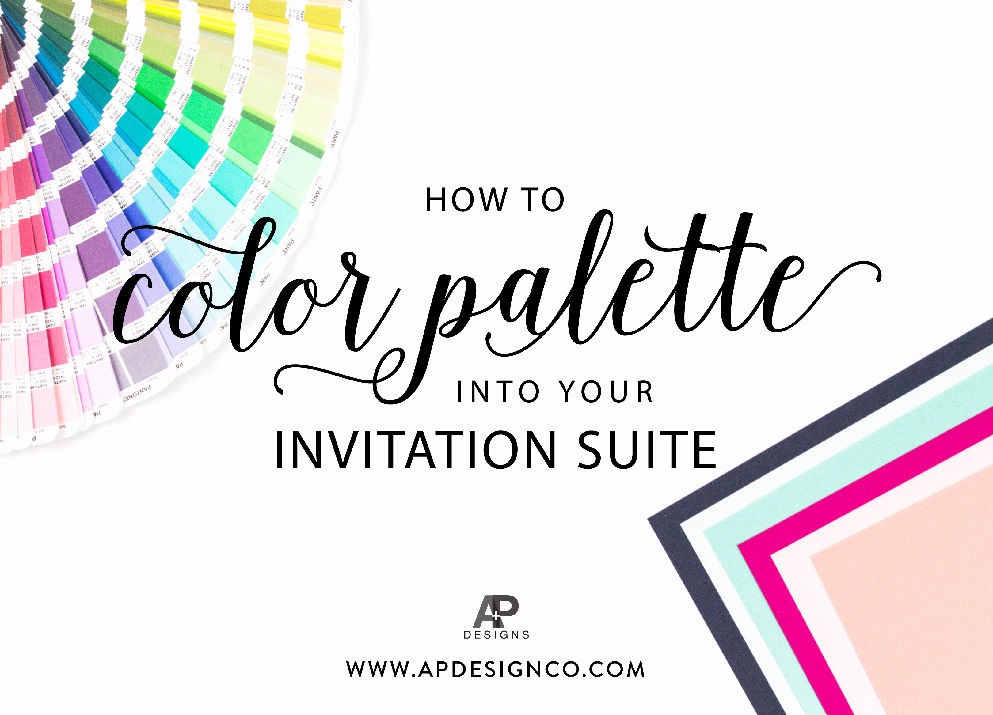 Paint Palette Invitation Template Luxury Incorporating Your Color Palette Into Your Wedding Invitations