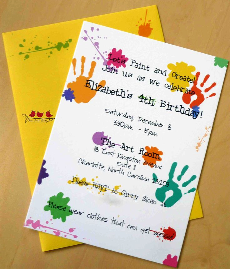 Paint Party Invitation Wording Awesome Best 25 Birthday Party Invitation Wording Ideas On