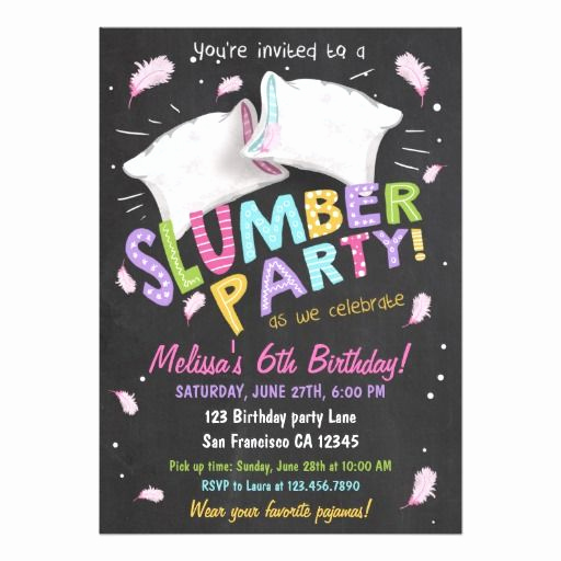Pajama Party Invitation Wording Best Of 25 Best Ideas About Slumber Party Invitations On