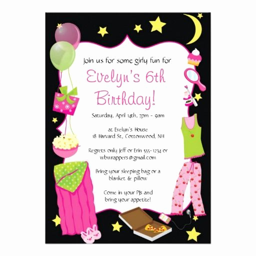 Pajama Party Invitation Wording Lovely 9 Best Images About Invitaciones Piajamda On Pinterest
