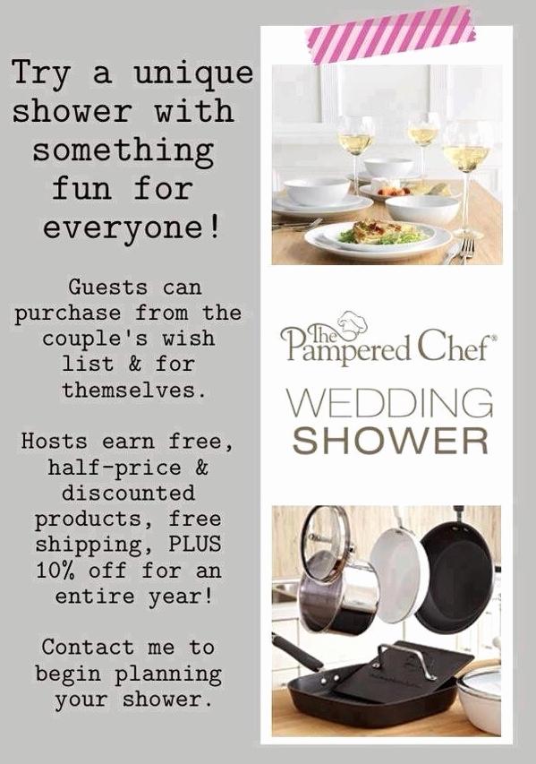 pampered chef bridal shower