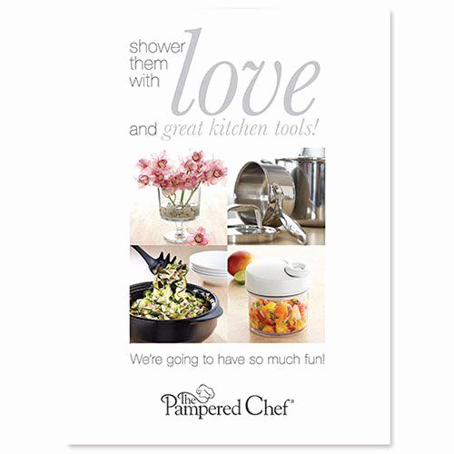 Pampered Chef Bridal Shower Invitation Luxury Wedding Shower Invitation with Envelope 25