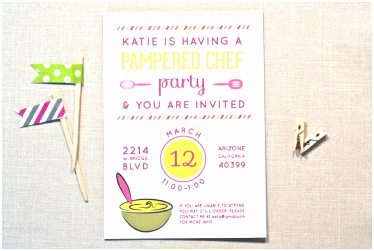 Pampered Chef Invitation Template Best Of 7 Pampered Chef Invitation Template Rruii