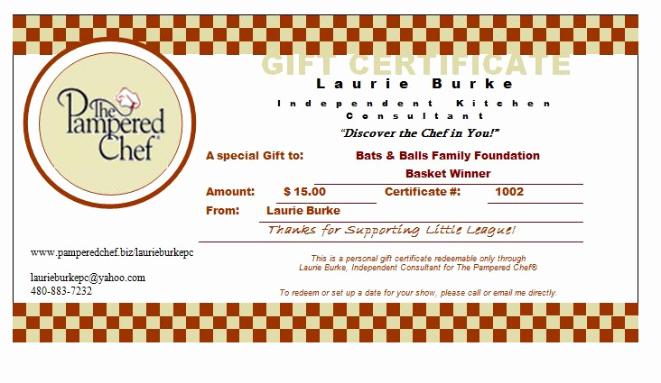 Pampered Chef Invitation Template Elegant 29 Of Pampered Chef Gift Certificate Template