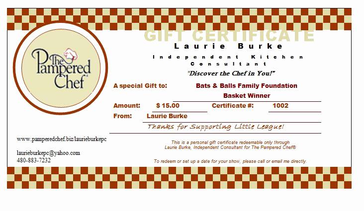 Pampered Chef Invitation Template Elegant 29 Of Pampered Chef Gift Certificate Template