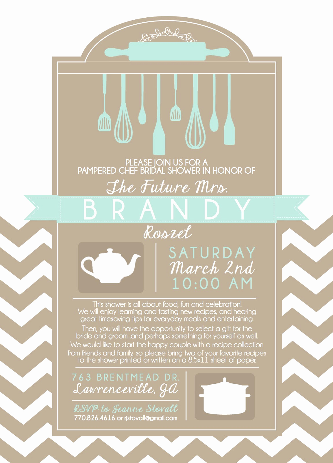 Pampered Chef Invitation Template New Pampered Chef Invitation Templates