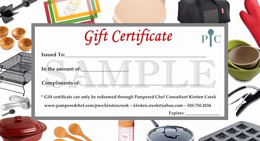 Pampered Chef Invitation Template Unique 29 Of Pampered Chef Gift Certificate Template