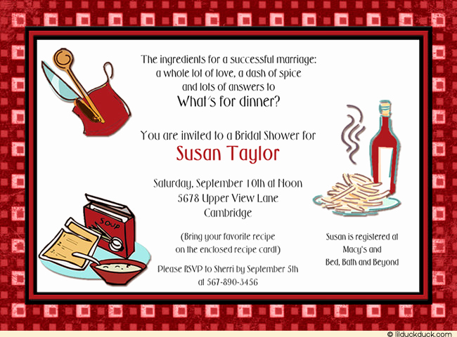 Pampered Chef Party Invitation Awesome Pampered Chef Invitations Wording – Invitation Templates
