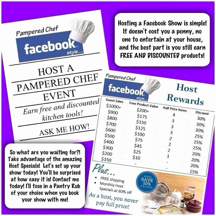 Pampered Chef Party Invitation Beautiful Party with Me Visit and Like My Page at S