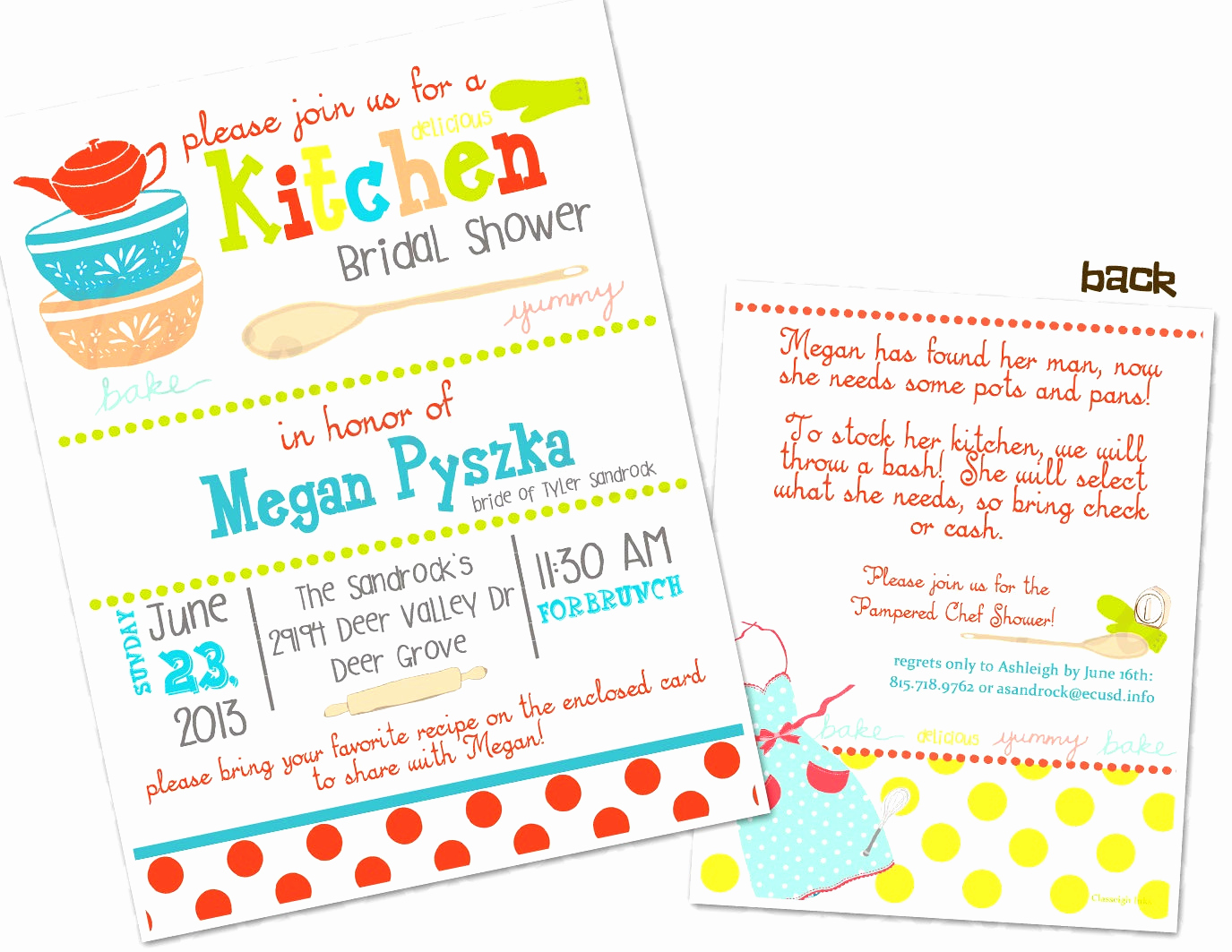 Pampered Chef Party Invitation Lovely Pampered Chef Invitation Templates
