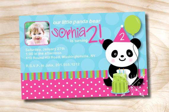 Panda Birthday Invitation Templates Free Beautiful Panda Party Birthday Party Invitation Printable Diy