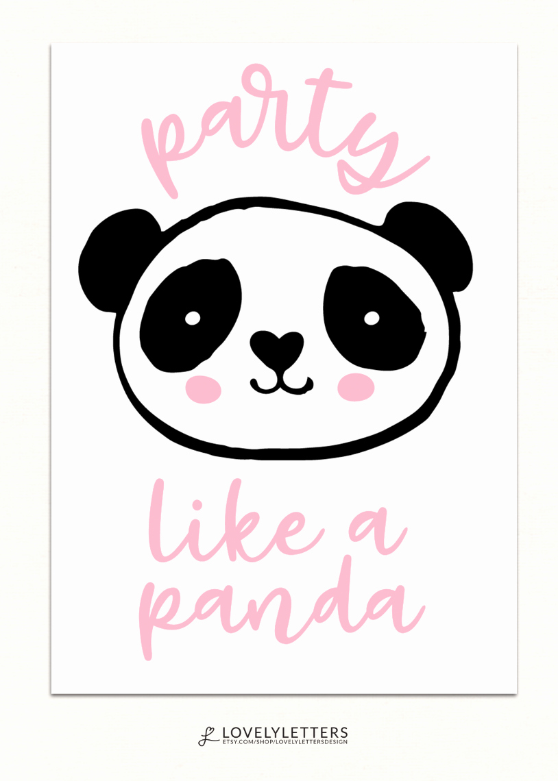 Panda Birthday Invitation Templates Free Best Of Lovely Party Package Party Add On Designs Invitation