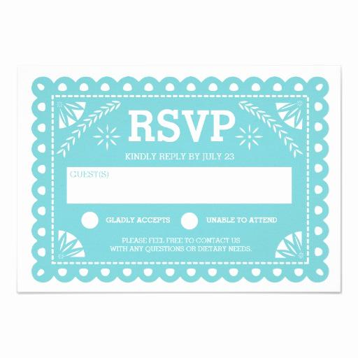 Papel Picado Invitation Template Free Fresh Papel Picado Wedding Rsvp Custom Invitation