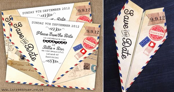Paper Airplane Invitation Template Best Of Paper Airplane Invitation Wedding 9 5 15