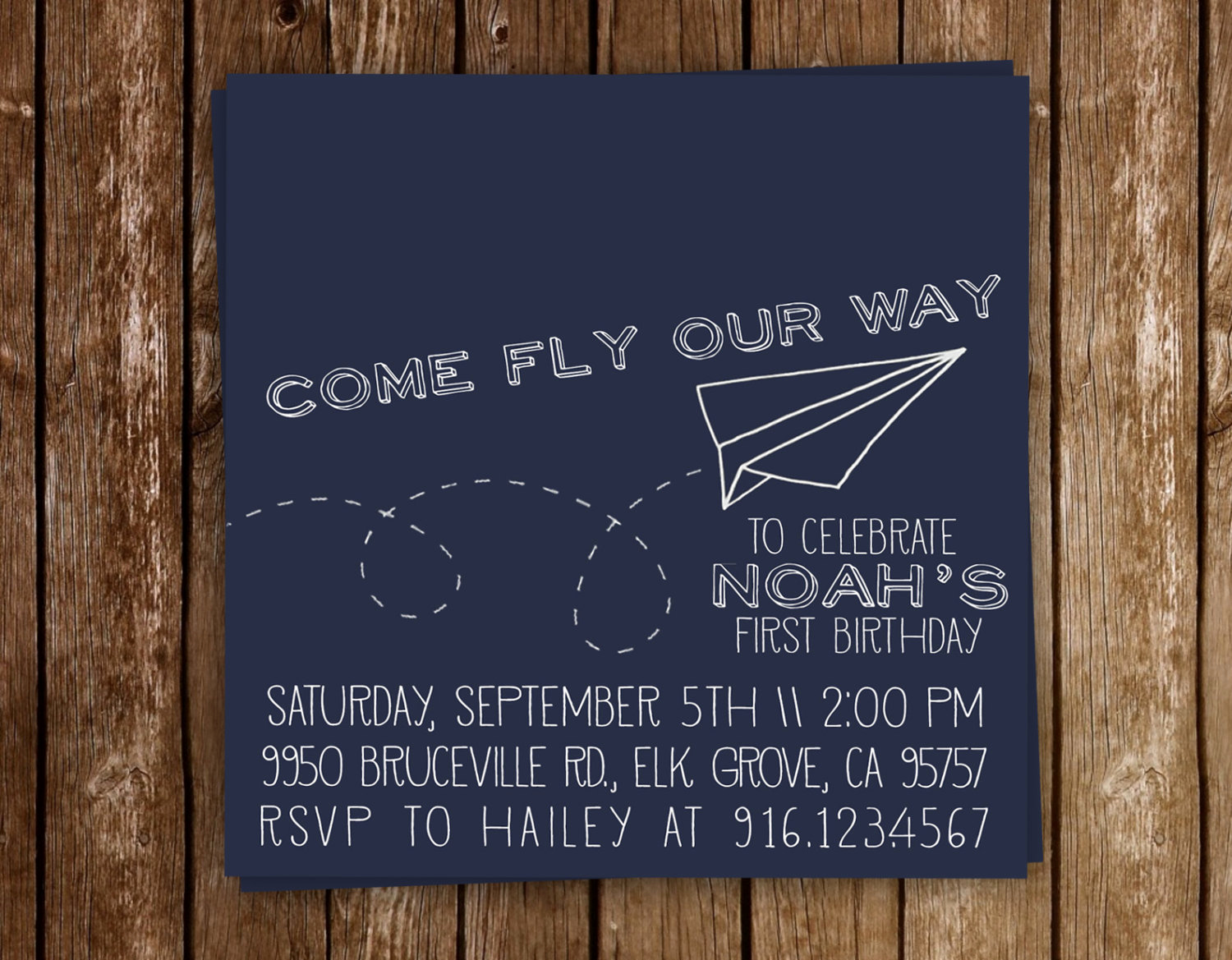 Paper Airplane Invitation Template Inspirational Vintage Paper Airplane Birthday Party Invitation Printable