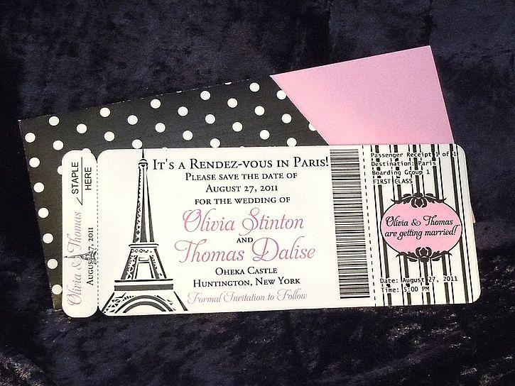 Paris Boarding Pass Invitation Elegant Paris Invitation Images