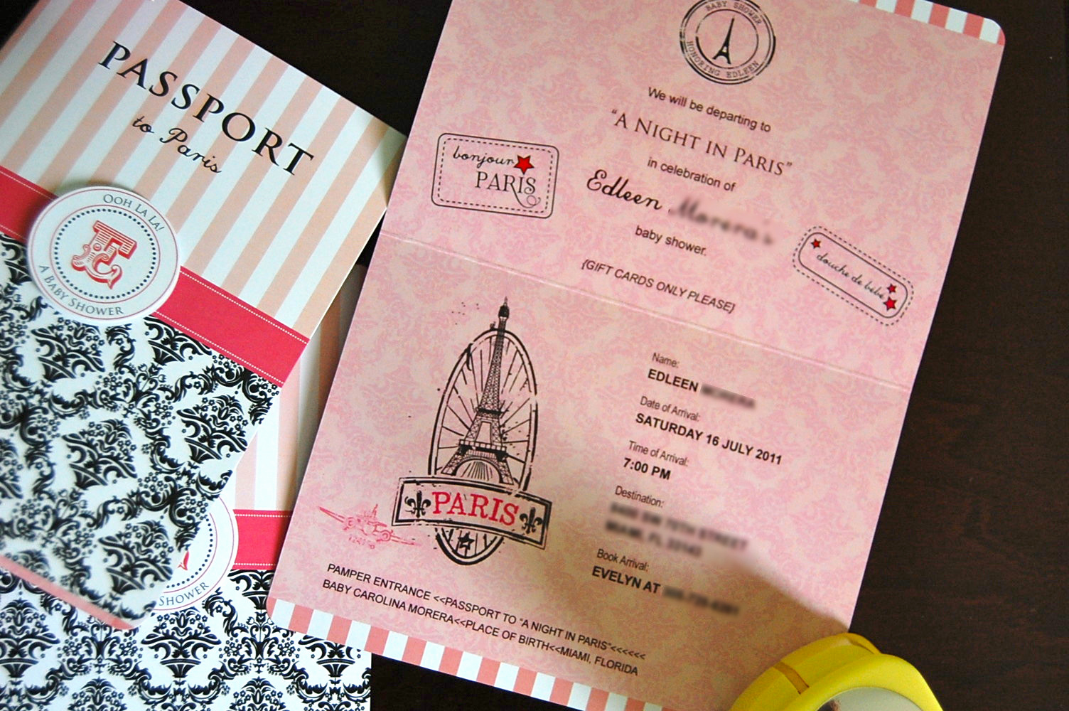 Paris Passport Invitation Template Elegant Flipawoo Invitation and Party Designs Updated Paris