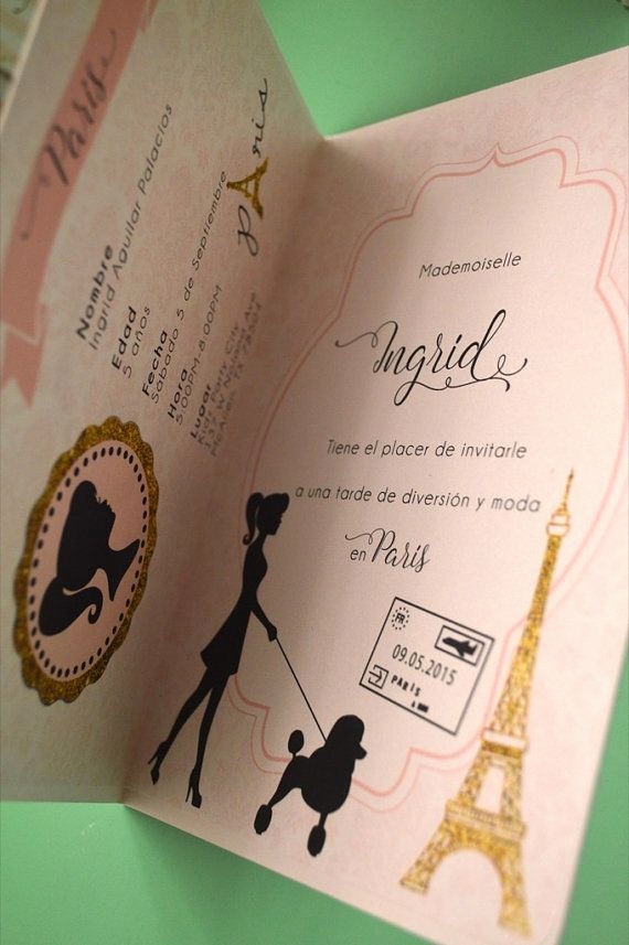 Paris Passport Invitation Template Unique Best 25 Passport Invitations Ideas On Pinterest
