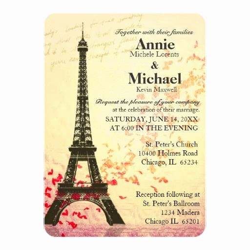 Paris themed Invitation Template Elegant 17 Best Images About Paris themed Wedding Invitations On