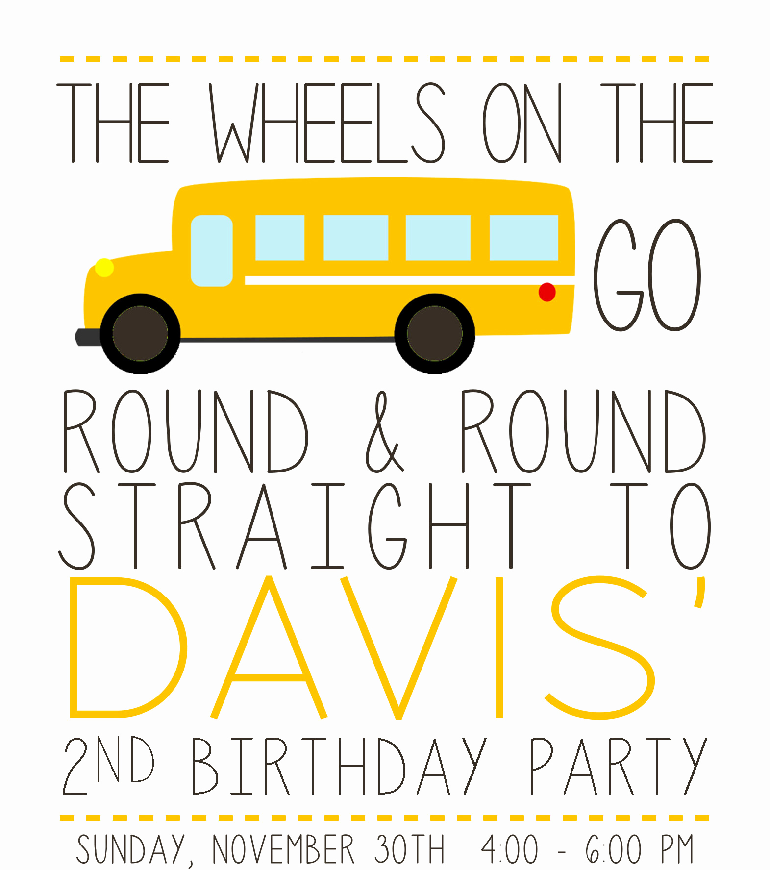 Party Bus Invitation Wording Fresh School Bus Party