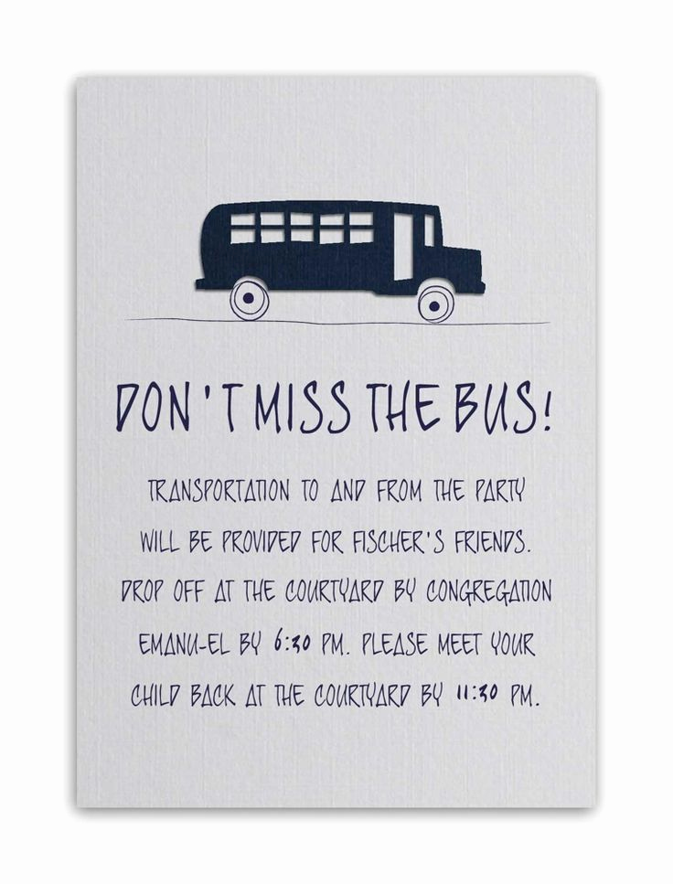 Party Bus Invitation Wording Inspirational Wedding Invitation Transportation Wording