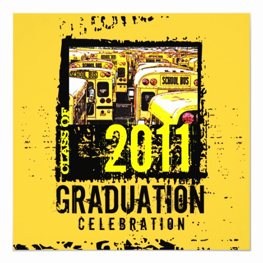 Party Bus Invitation Wording New Graduation Party Invitation School Bus 9