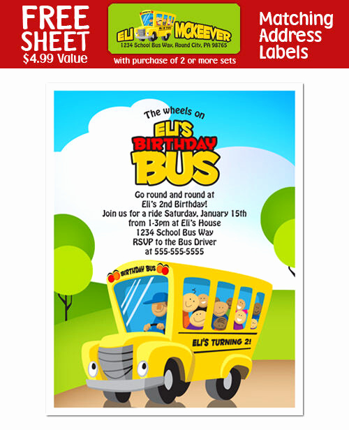 Party Bus Invitation Wording Unique 8 School Bus Birthday Party Invitations