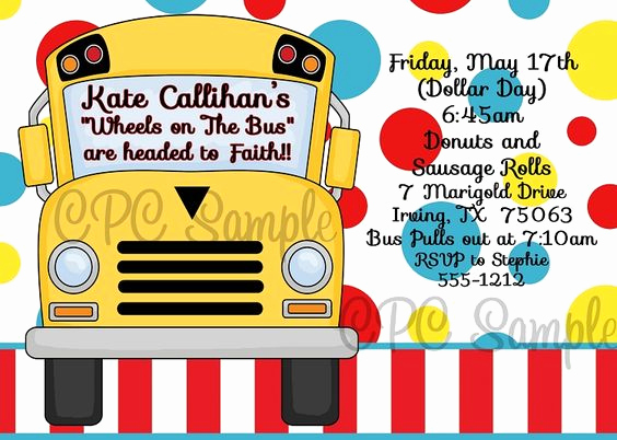 Party Bus Invitation Wording Unique Birthday Party Invitations Wheels and Buses On Pinterest