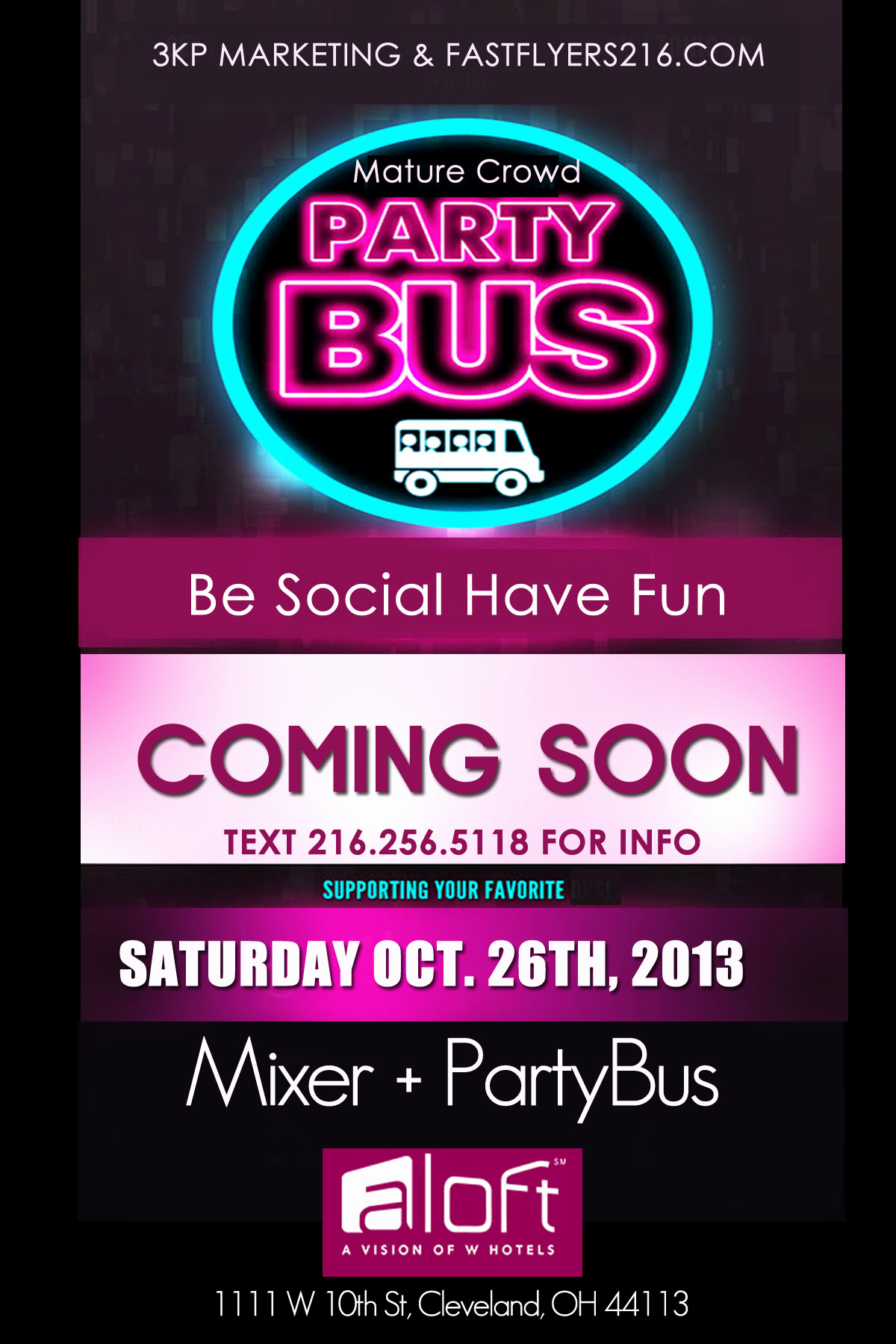 Party Bus Invitation Wording Unique Mixer Party Bus Part Of Rock the Vote Week events