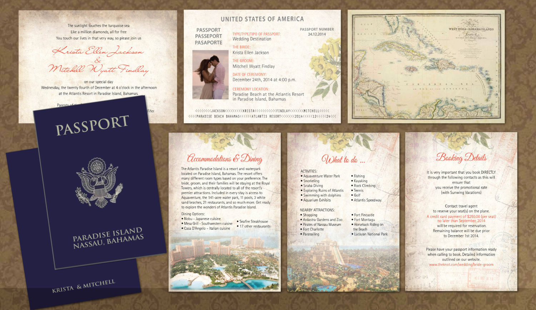 Passport Invitation Template Free Best Of Passport Wedding Invitation Templates