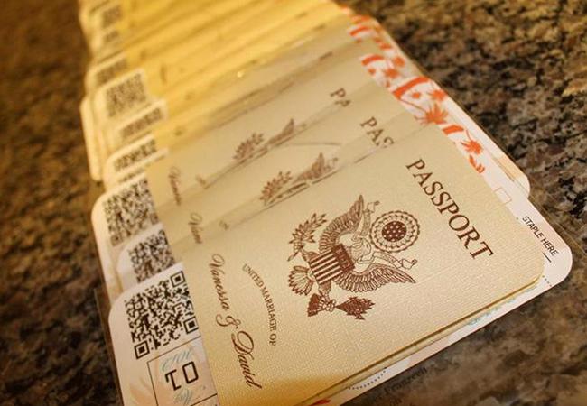 Passport Invitation Template Free Lovely Vanessa S Destination Wedding Invitations