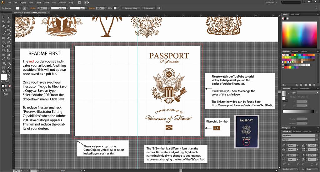 Passport Invitation Template Free Luxury Vanessa S Destination Wedding Invitations