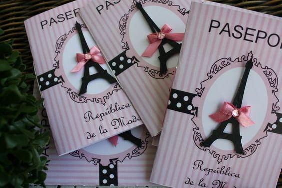 Passport to Paris Invitation Inspirational A Parisian themed Quince Oui