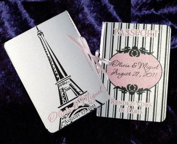 Passport to Paris Invitation Inspirational Items Similar to Deposit Paris Rendez Vous Passport