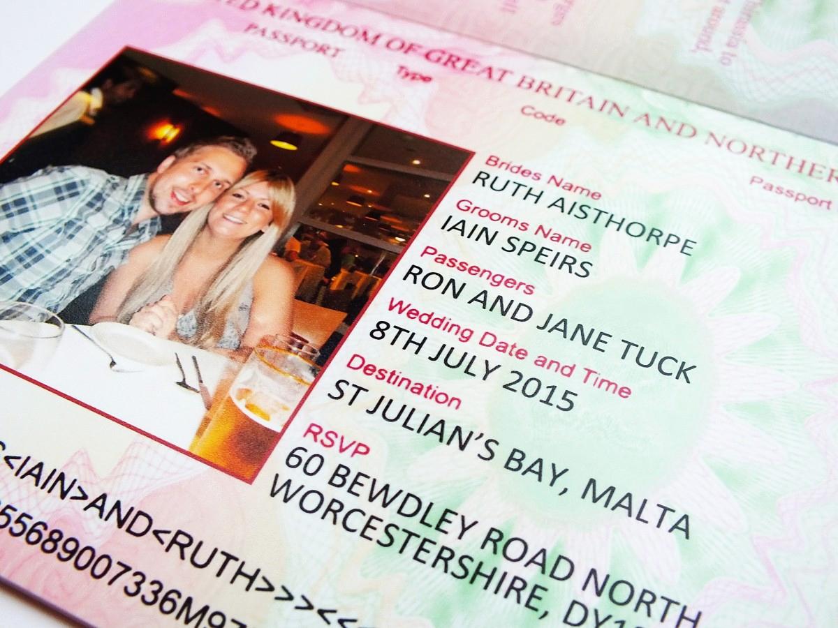 Passport Wedding Invitation Template Best Of Uk Passport Wedding Invitations