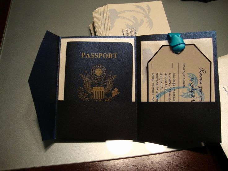 Passport Wedding Invitation Template Lovely 15 Best Ideas About Passport Invitations On Pinterest
