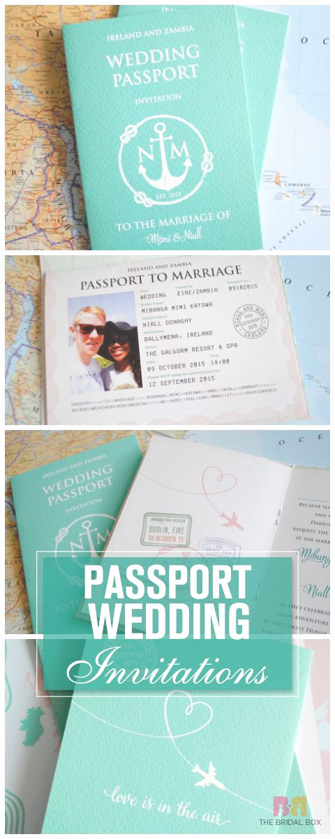 Passport Wedding Invitation Template New Best 25 Passport Invitations Ideas On Pinterest