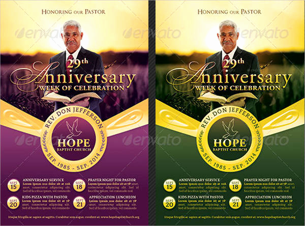 Pastor Anniversary Invitation Letter Unique 51 Invitation Flyer Design Templates Psd Ai