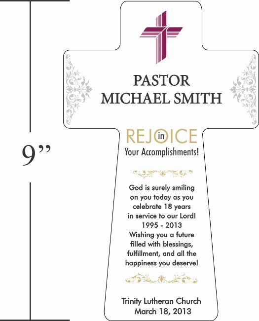 Pastor Anniversary Invitation Letter Unique 80 Best Pastor Appreciation Images On Pinterest