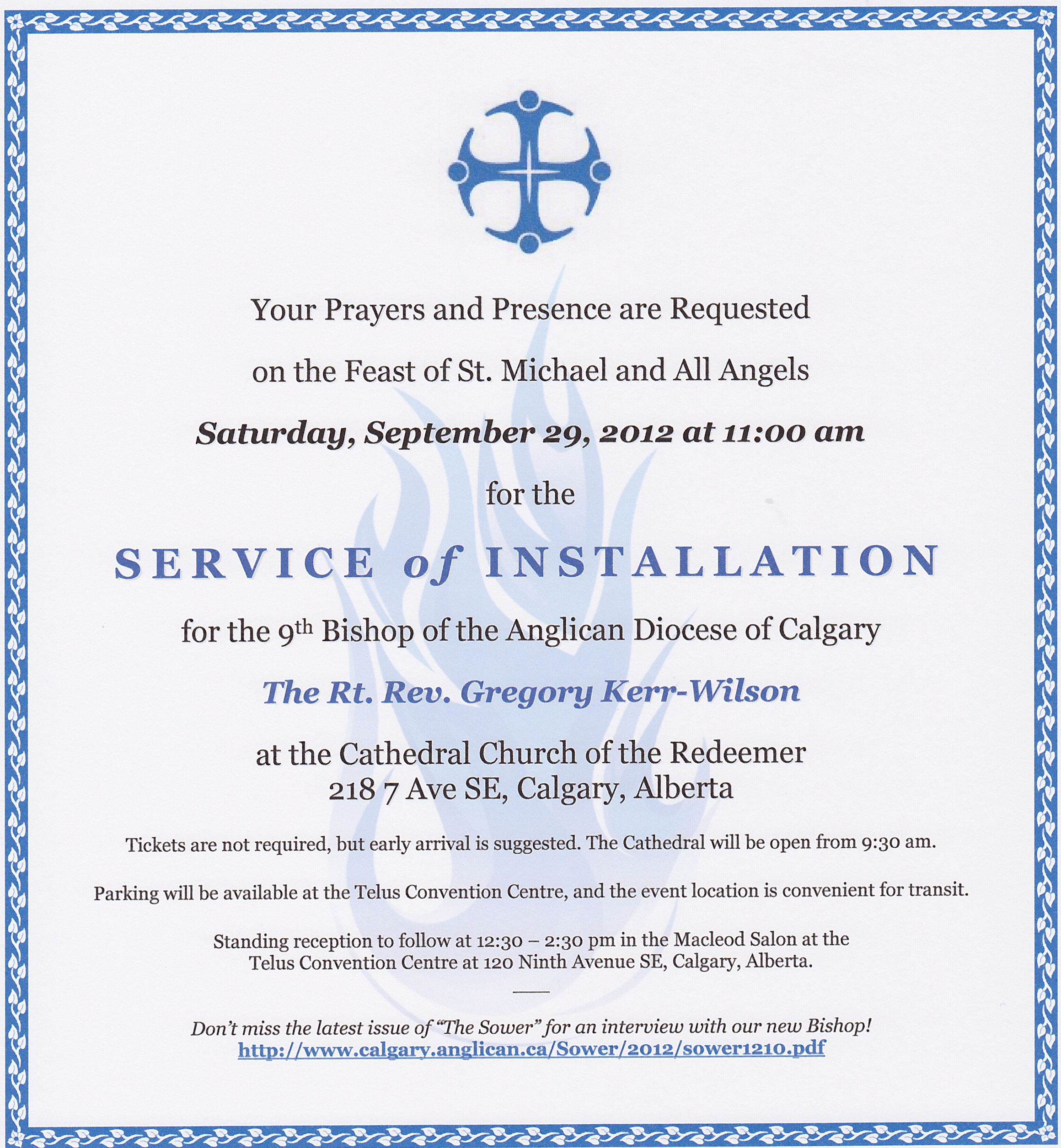 Pastor Installation Service Invitation Unique You are Invited to the Bishop's Installation This Saturday