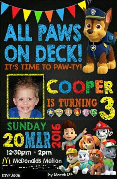 Paw Patrol Invitation Ideas Best Of 25 Best Ideas About Paw Patrol Invitations On Pinterest