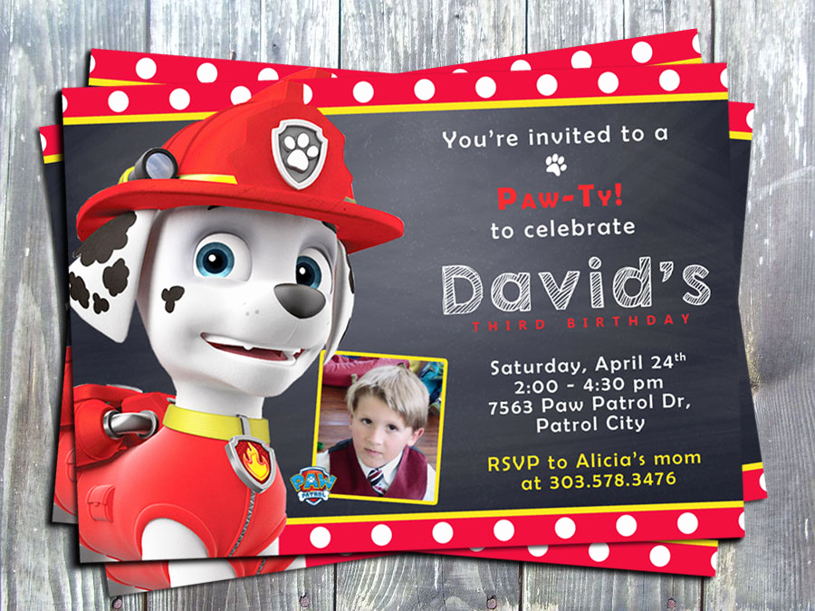 Paw Patrol Invitation Ideas Elegant Free Printable Paw Patrol Birthday Invitation Ideas