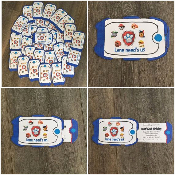 Paw Patrol Invitation Ideas Inspirational Best 25 Paw Patrol Invitations Ideas On Pinterest