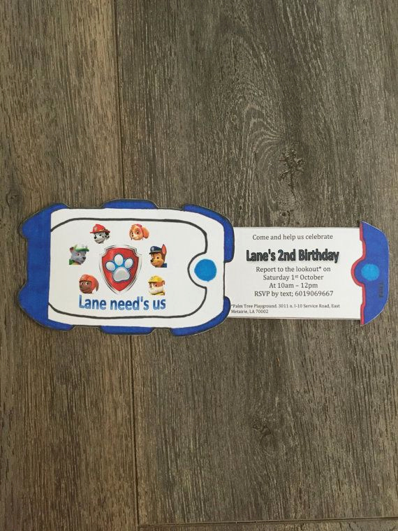 Paw Patrol Invitation Ideas Luxury Best 25 Paw Patrol Invitations Ideas On Pinterest