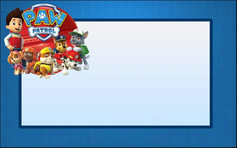 Paw Patrol Invitation Template Free Beautiful Paw Patrol Invitations Sure Success