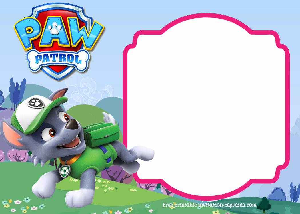 Paw Patrol Invitation Template Free Fresh Paw Patrol Birthday Invitation Templates – Most Plete