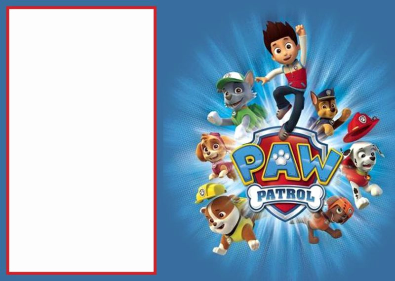 Paw Patrol Party Invitation Template Best Of Paw Patrol Invitations Sure Success