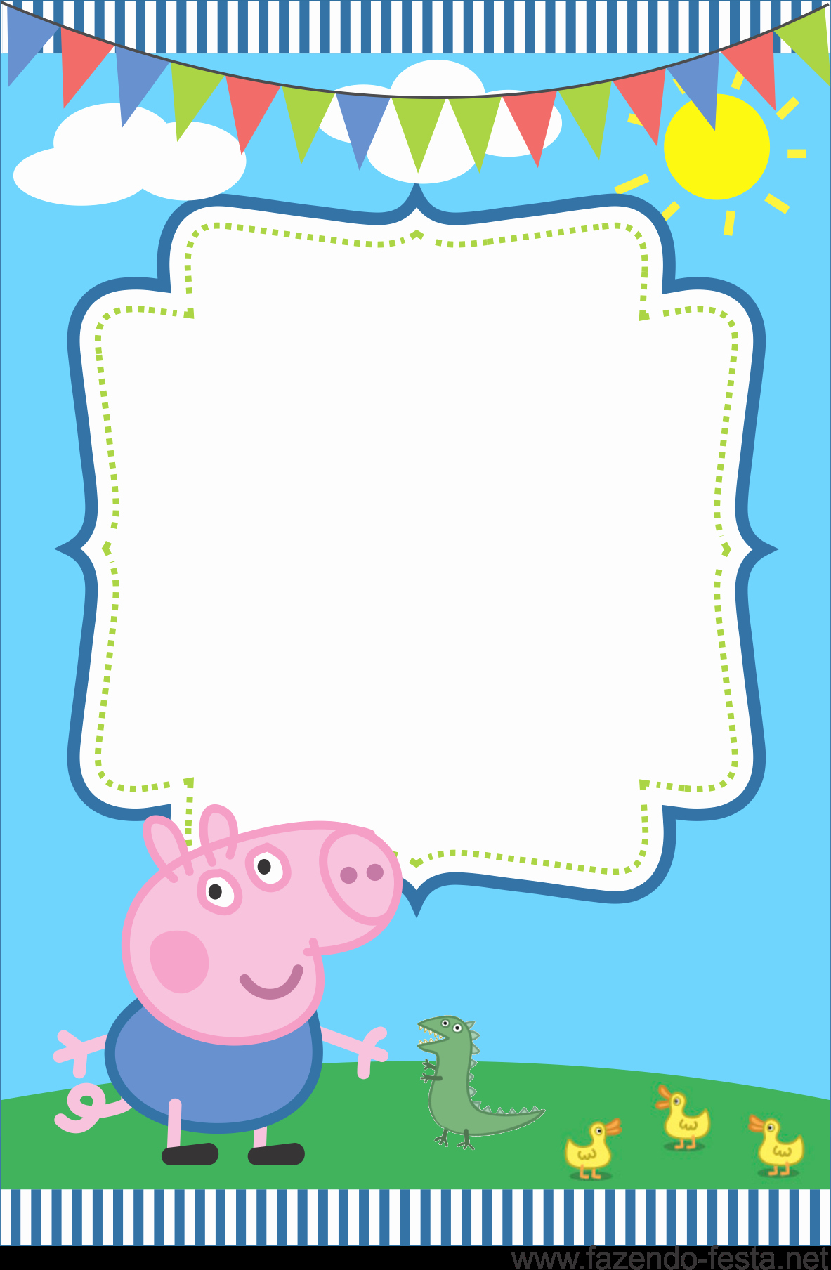 Peppa Pig Invitation Template Best Of Pin by Crafty Annabelle On Peppa Pig Printables