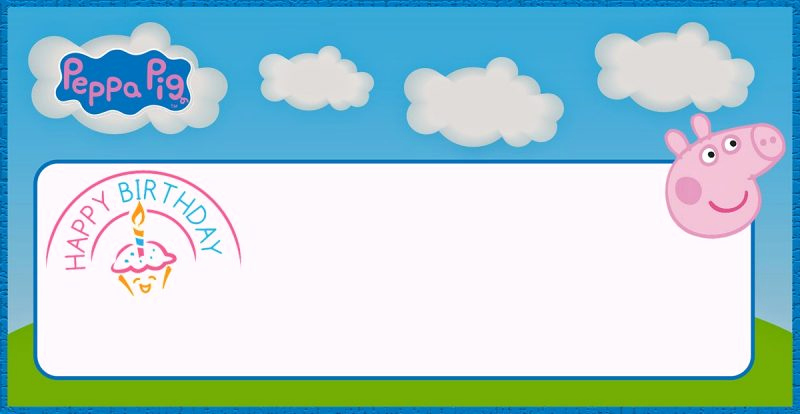 Peppa Pig Invitation Template Free Best Of Incredible Peppa Pig Invitation Templates Free and